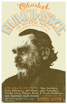 Poster for the Bukowski CD Release Party